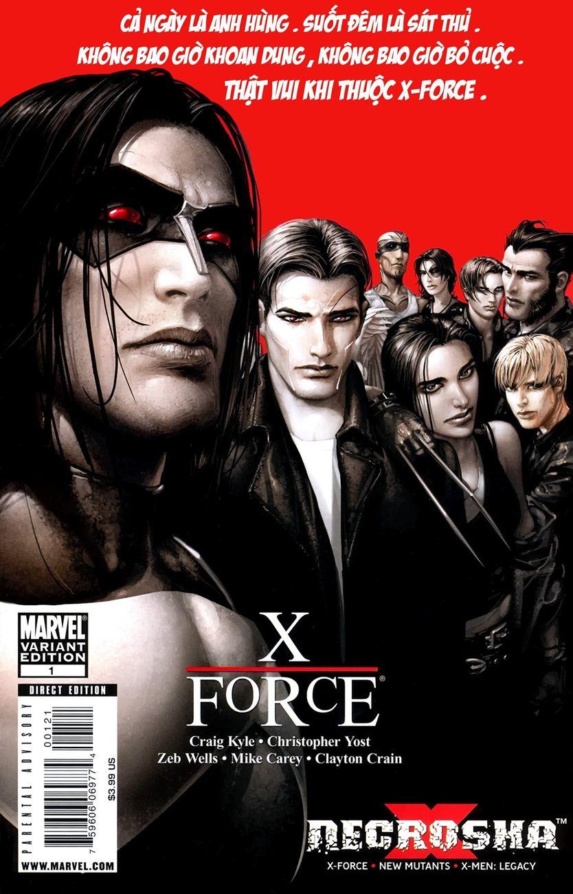 X-Men Necrosha chap 1 trang 2
