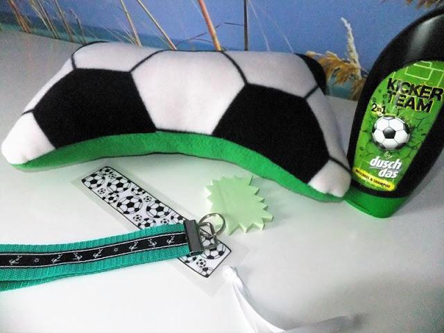 Mottogeburtstag Fußballspiel-Gastgeschenke