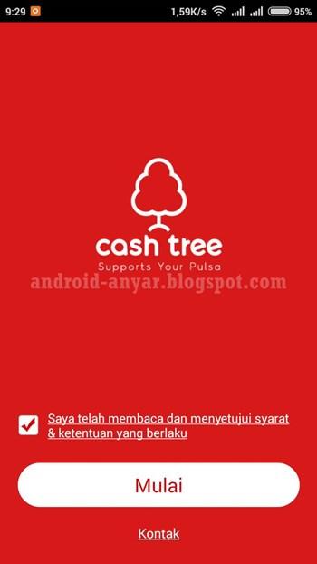 Cara Mendapatkan Pulsa Hadiah Gratis dari Cashtree
