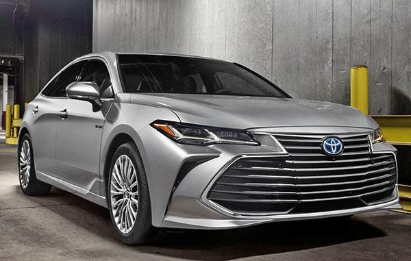 Burlappcar: 2019 Toyota Avalon