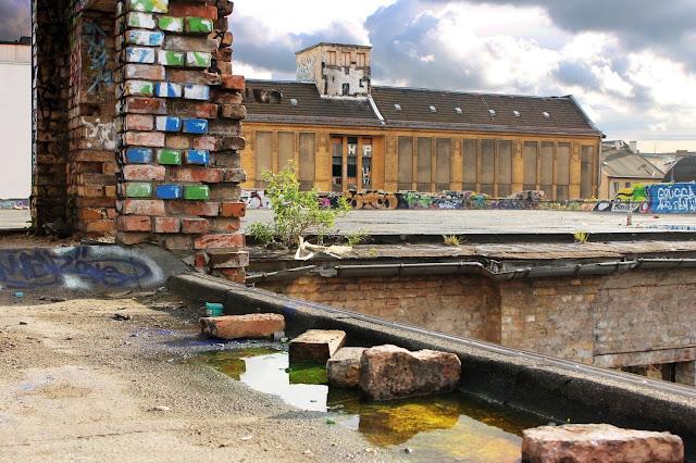 Flussperle Eisfabrik Berlin Köpenicker Straße Koepi Graffiti