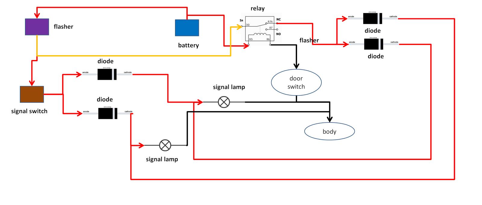 kereta ku sayang rh keretakusayangku blogspot com 11 Pin Relay Wiring Diagram Arduino Relay Wiring
