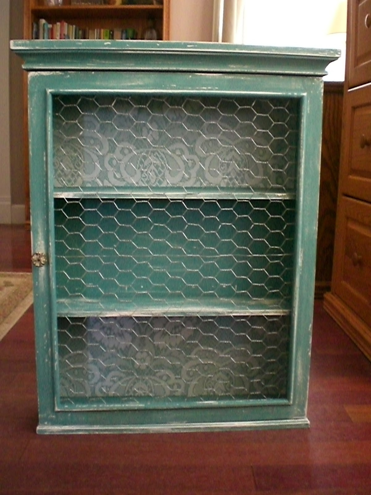 Bliss On A Budget Medicine Cabinet Turned Display Cabinet