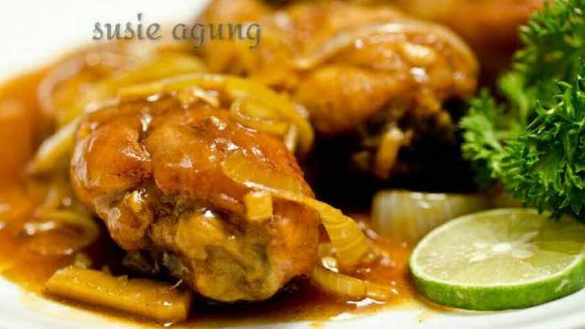 Resep Ayam Goreng Mentega Dengan Bumbu Minimalis Tapi Rasanya Juaraaaa!...
