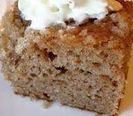 EASY LOW-FAT APPLE-SPICE SNACK CAKE