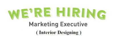Marketing Executive (Interior Designing)
