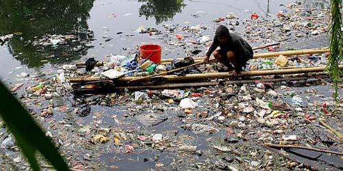 Pasca Banjir, Sungai di Abdya Penuh Sampah