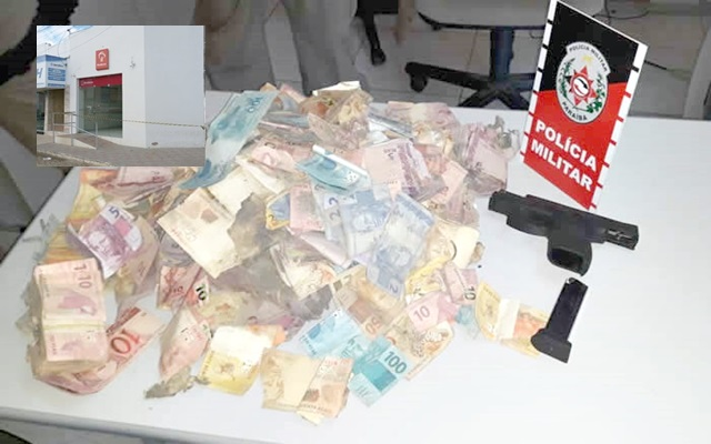 Suspeito de ataque a banco é achado morto após confronto com a polícia na Paraíba