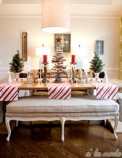 coastal holiday table decorating ideas