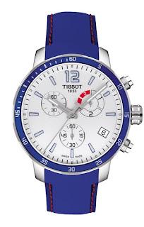 TISSOT Quickster Chrono Soccer White Dial Rubber Strap T095.449.17.037.00