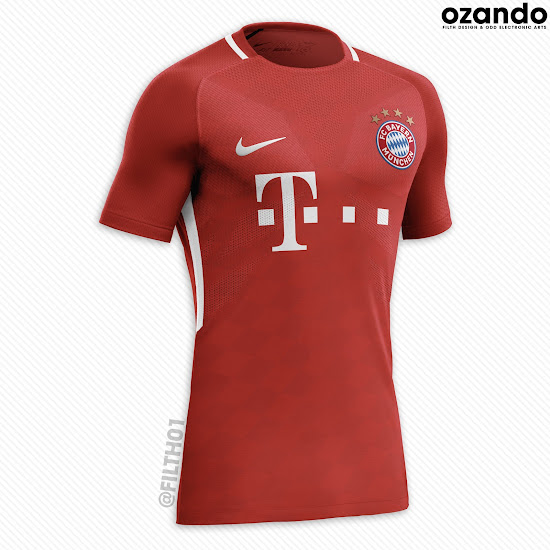 the latest a85e1 e2434 Bayern München and Borussia Dortmund Nike Concept Kits ...