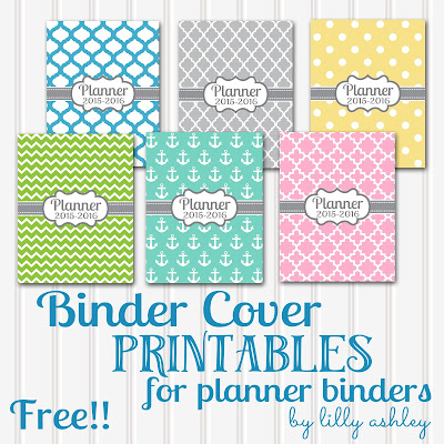 free printables binder planner free download