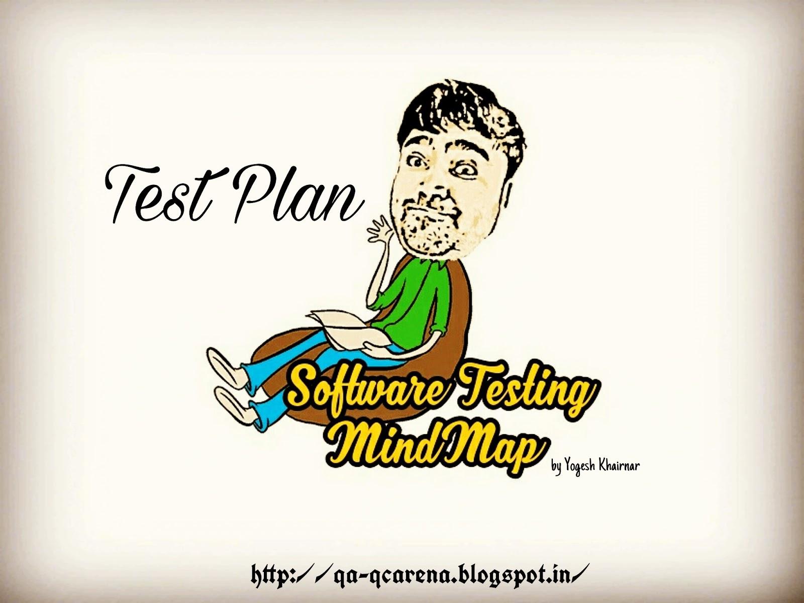 QA-QC Arena: Software Testing Mind Maps – Test Plan