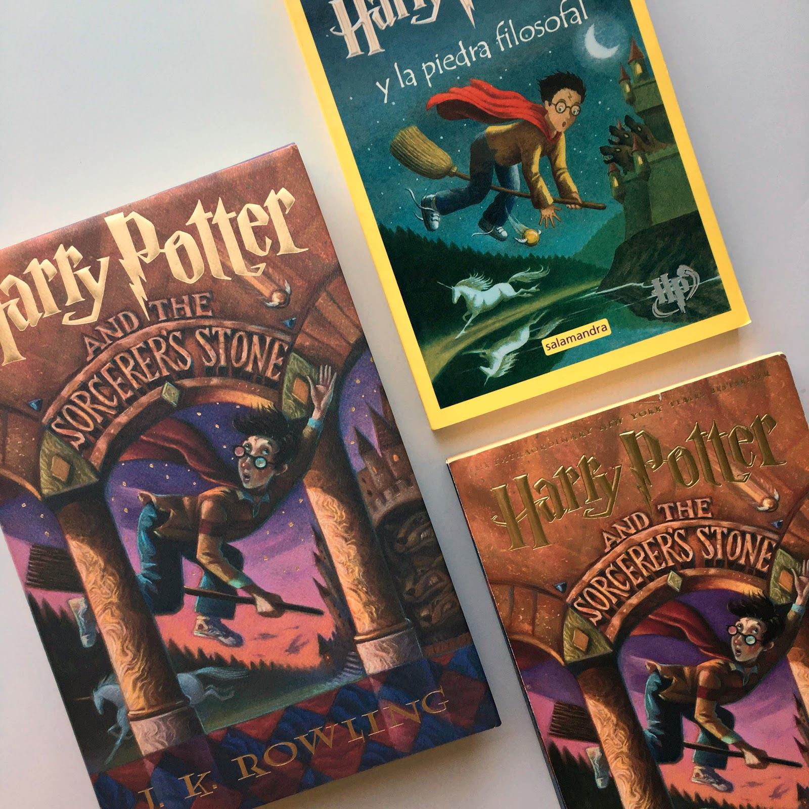 Harry Potter and the Sorcerer's Stone Book 1 (Audiobook) J.K. Rowling Narrated by Jim Dale