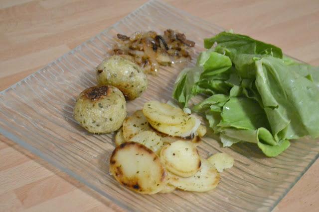 recette végétarienne, boulette, aubergine