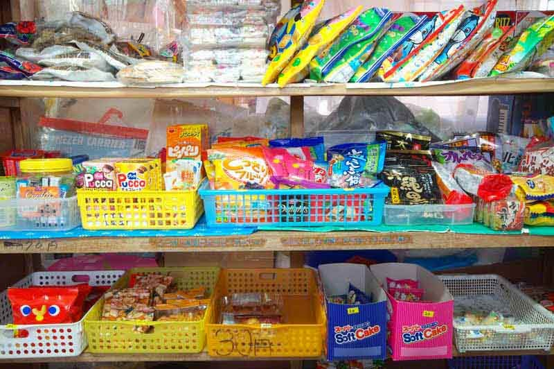 candies,snacks