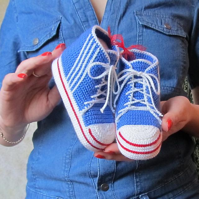 abbastanza Idee per scarpine da neonato ad uncinetto – Gomitoli Magici LA12