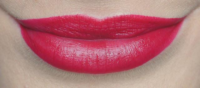 rimmel apocalips matte lip velvet 307 meteoric swatch