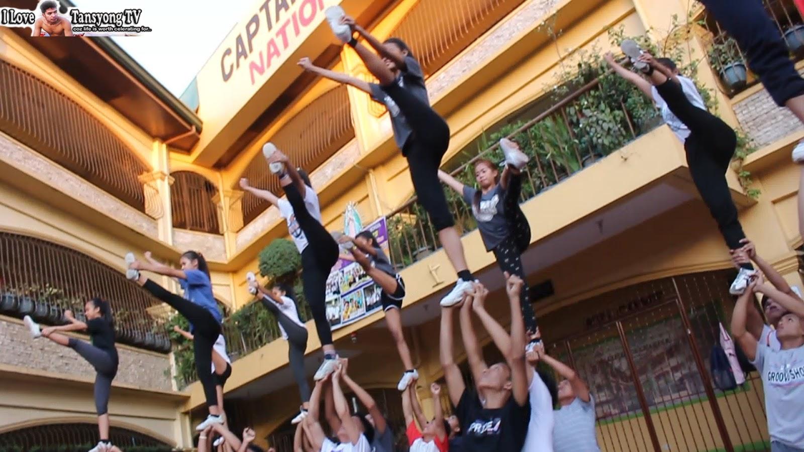 🎀 Basic Cheerleading Moves Ft  CAA Stingrays Pep Squad, Las Pinas
