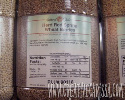 how to grow grass from wheat berries