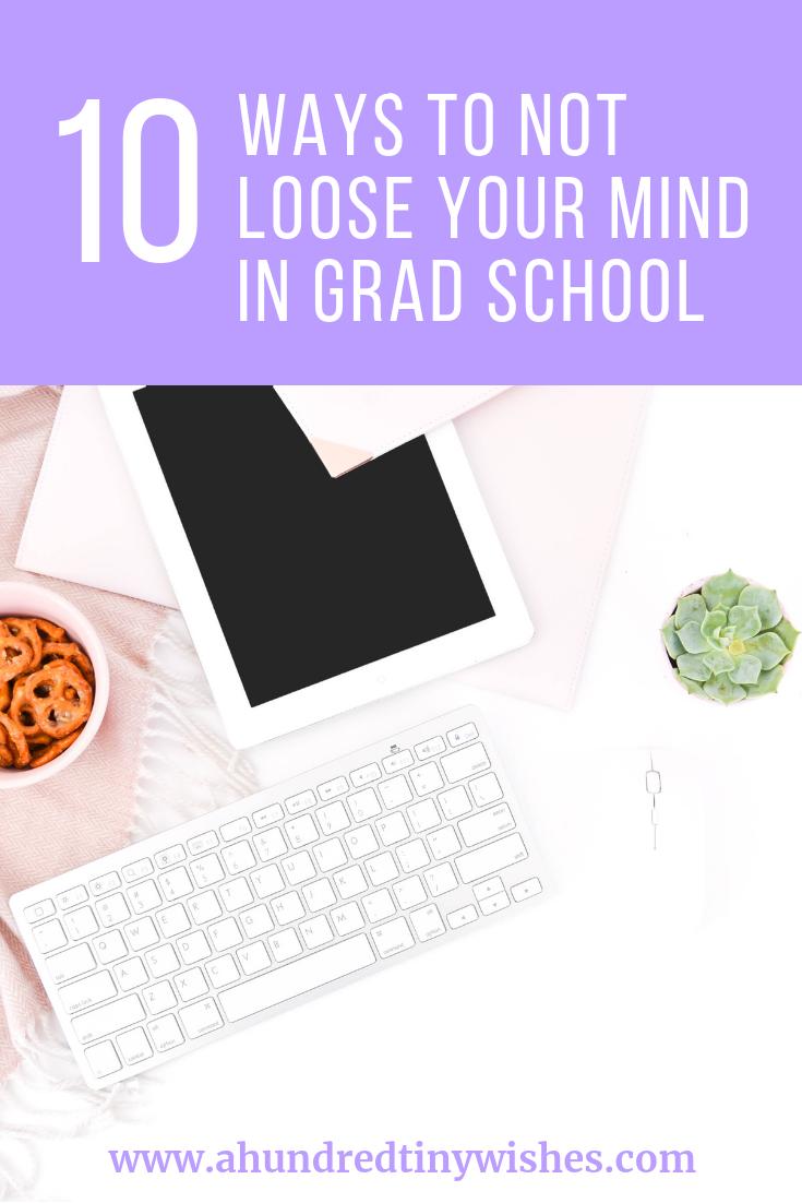 grad school, grad school study tips, grad school tips
