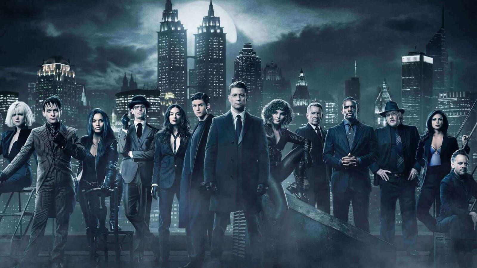 Gotham Season 4 เปิดตำนานเมืองค้างคาว ปี 4 ทุกตอน พากย์ไทย