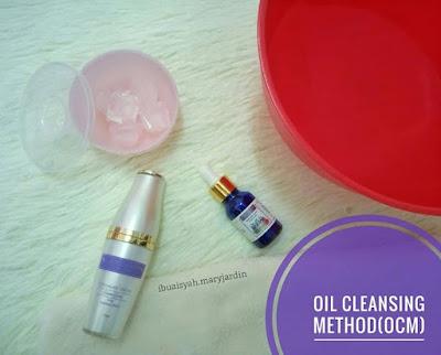 bahan oil cleansing method