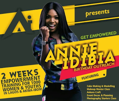 annie idibia foundation