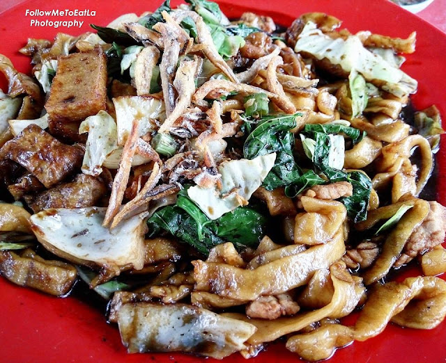 Full-Of-Wok-Hei  Fried Pan Mee RM 5.50 (Small) RM 6.50 (Large)