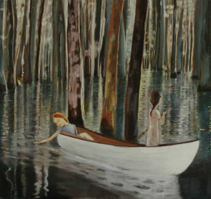 Хрупкие и поэтичные картины. June Sira