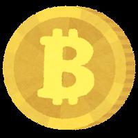 仮想通貨のイラスト(Bitcoin)