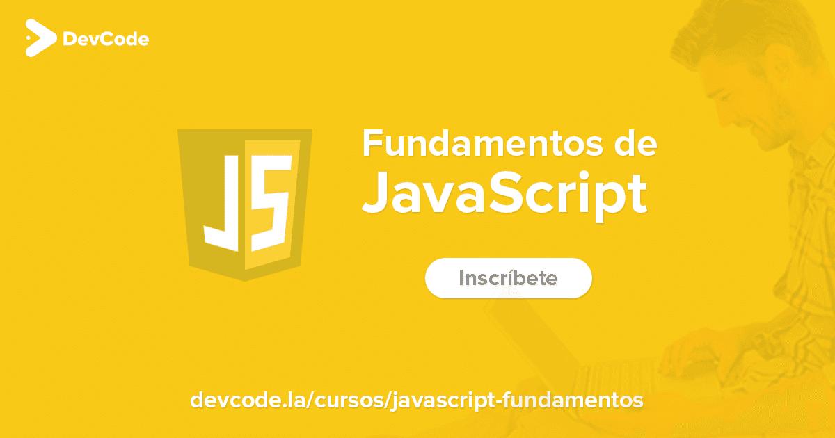 Curso de JavaScript (DevCode) MEGA