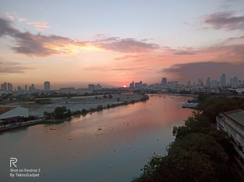 Realme 3 Main Camera Sample - Sunset, 1x Zoom