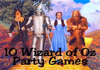 10 Wizard of Oz Party Games