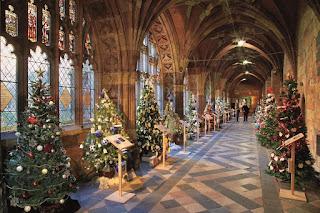Pohon Natal Di Gereja Katedral, Worcester