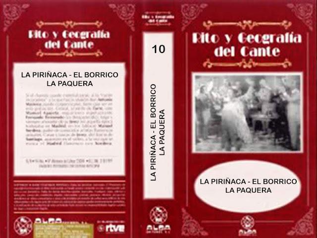 """Tío Gregorio El Borrico de Jerez RITO Y GEOGRAFÍA DEL CANTE"""" (10) VHS   EL BORRICO"""