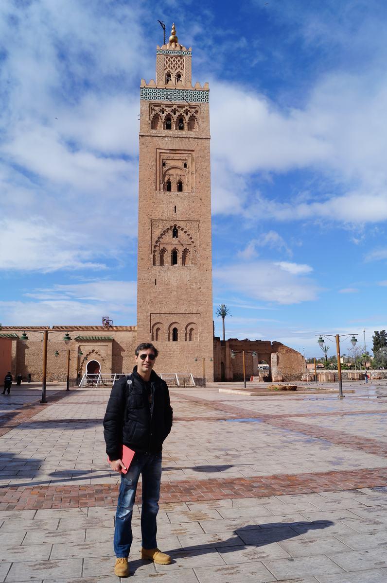 mezquita koutobia, plaza Djemaa el Fna