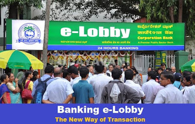 Banking e-Lobbies in India - Quick Facts