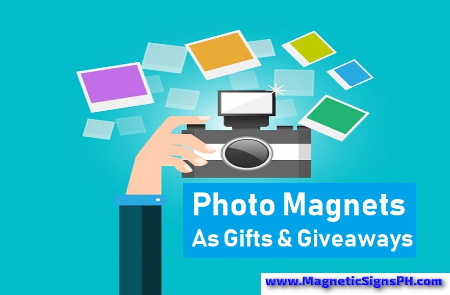 Photo Magnets as Gifts, Giveaways & Decorations