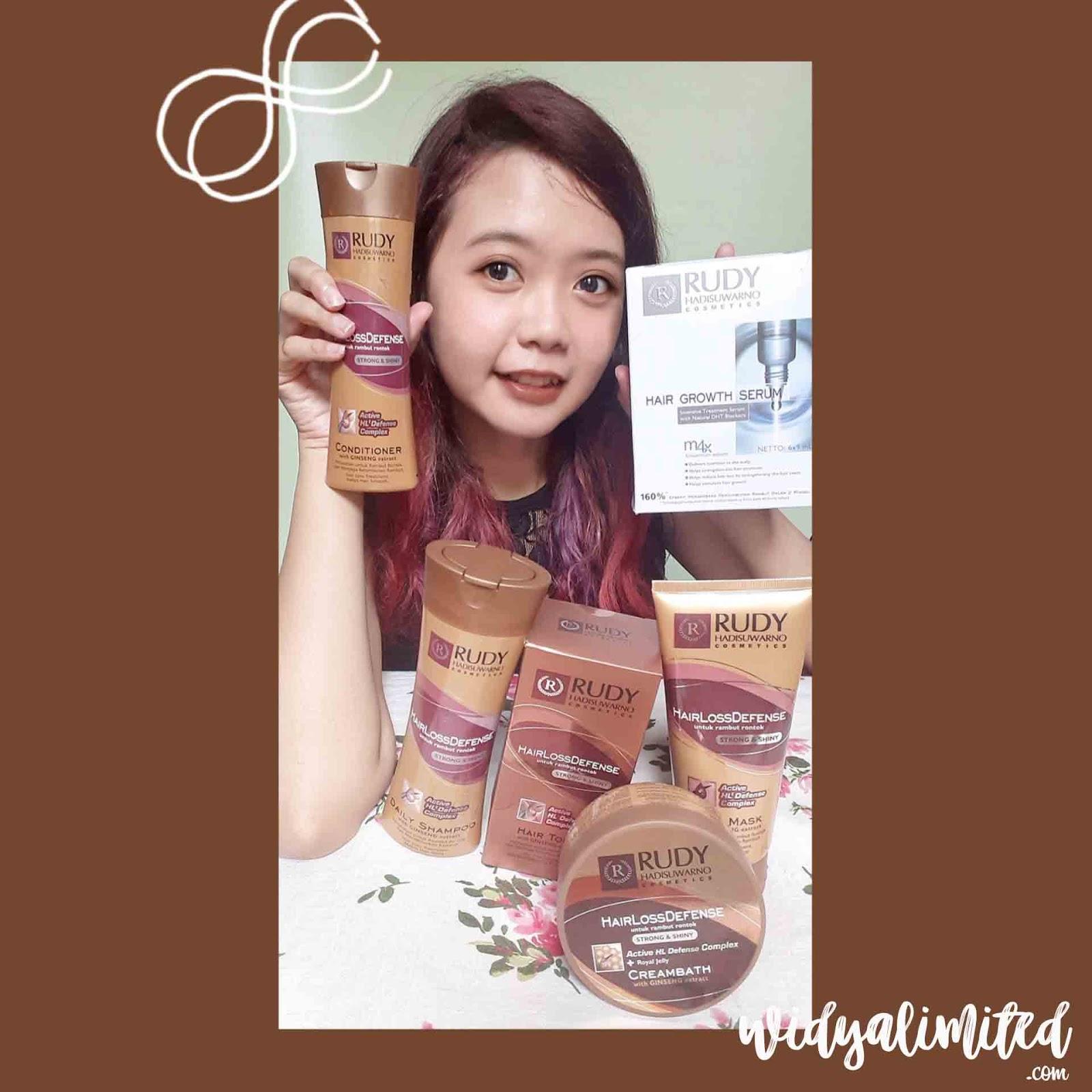 Honest Review Cara Mengatasi Rambut Rontok Dengan Rudy Hadisuwarno Hair Loss Defense Treatment Bahasa Indonesia Widyalimited