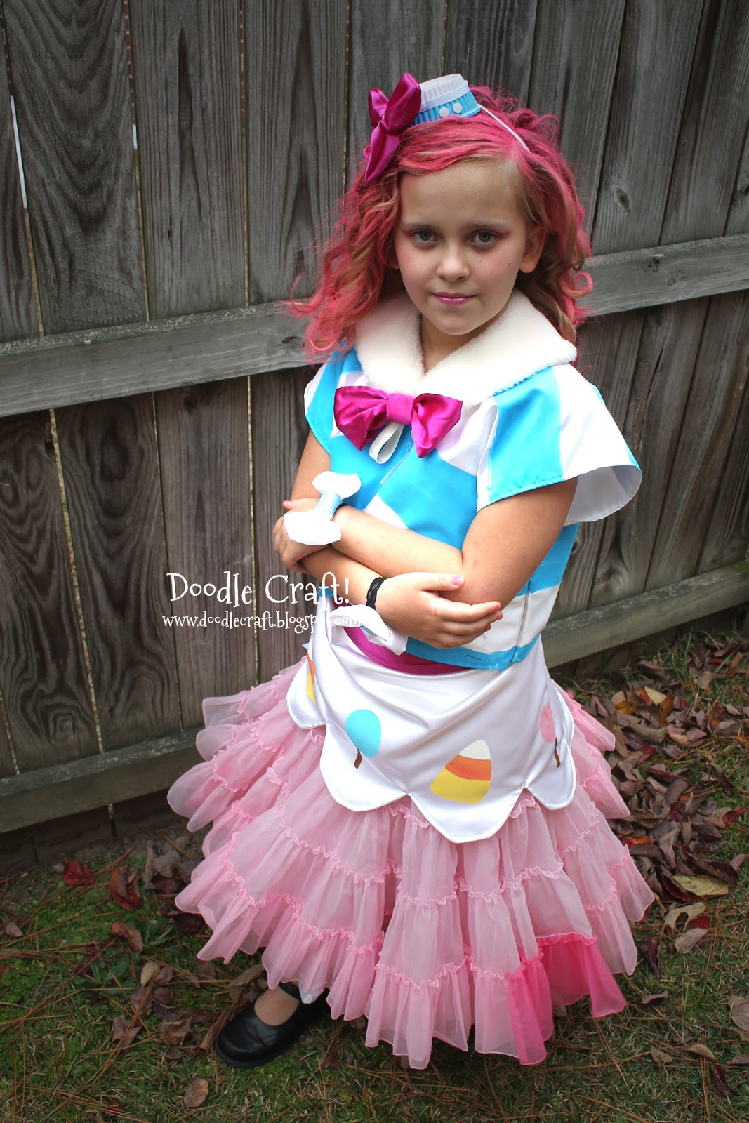 My Little Pony Pinkie Pie Gala Cosplay Dress!  sc 1 st  Doodlecraft & Doodlecraft: My Little Pony Pinkie Pie Gala Cosplay Dress!