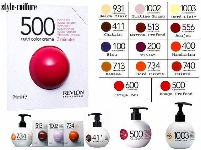 nutri color creme tratamento pigmentador e nutritivo destinados aos cabelos pintados revive a cor graas aos seus pigmentos inicos - Nutri Color Creme Revlon