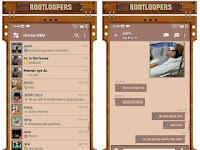 Download BBM MOD Smooth Brown APK V3.1.0.13