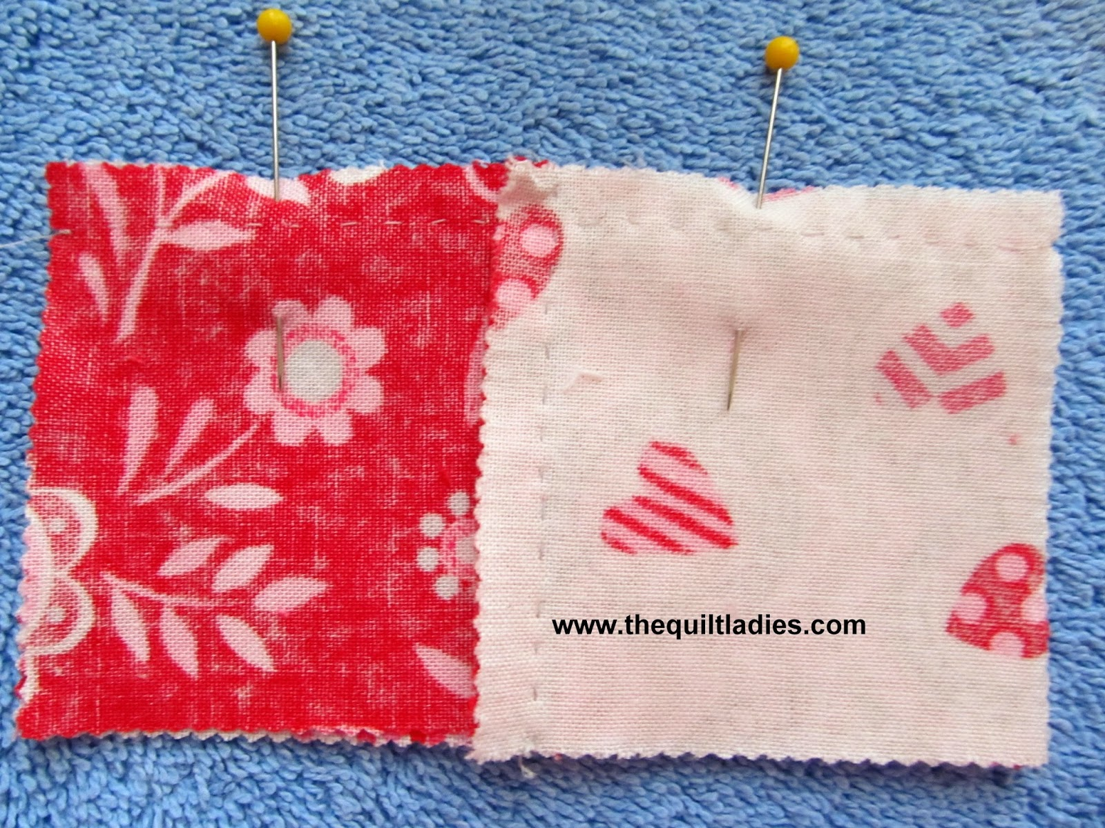 four patch quilt block tutorial