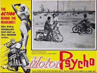 Motor Psycho, moteros y violencia en esta película de Russ Meyer