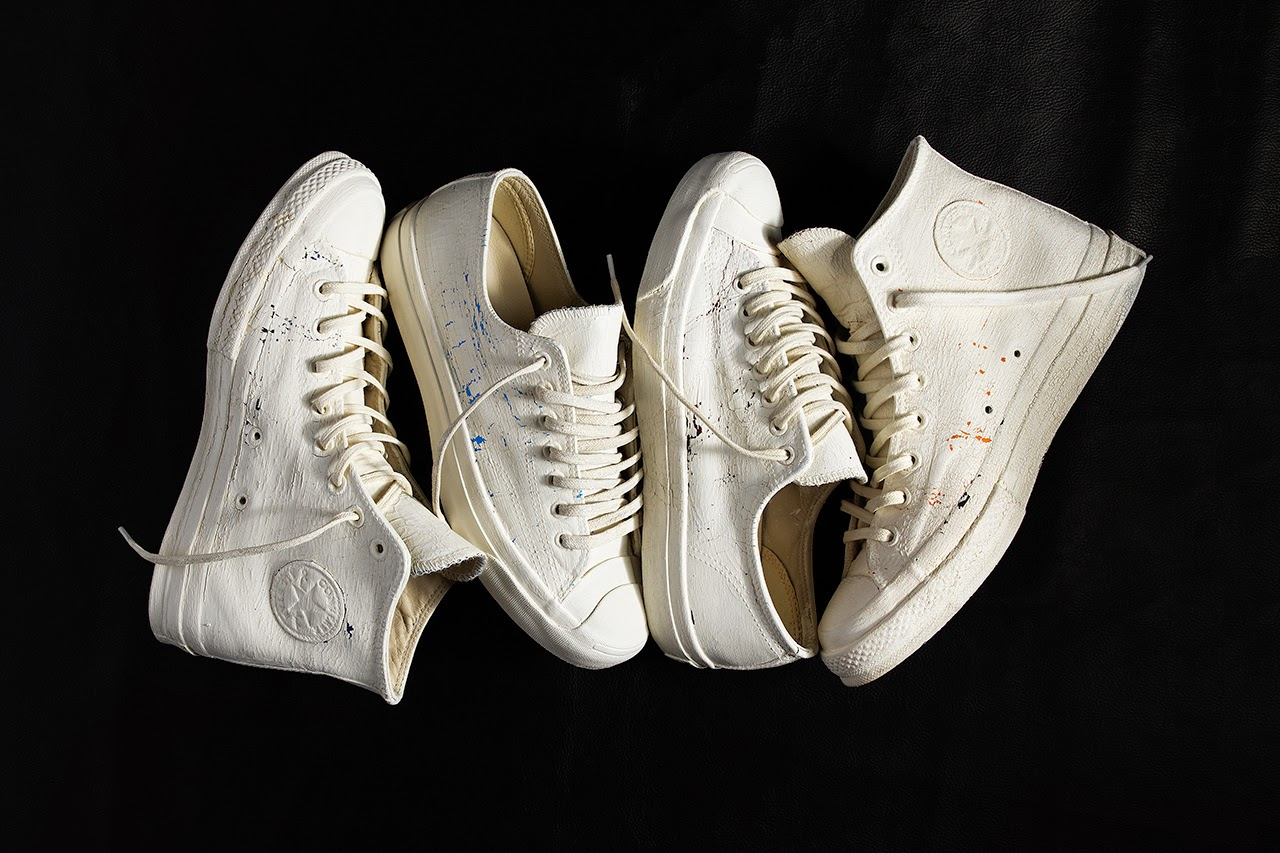 b4e6d17f61d233 Maison Martin Margiela and Converse First String present their new footwear  collection for Spring Summer 2014. Playing with the same concept as the  first ...