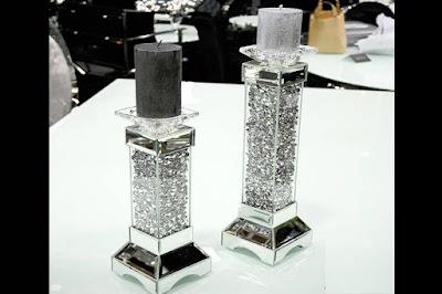 www.reaction.sk, interiérový nábytok, sklenené svietniky