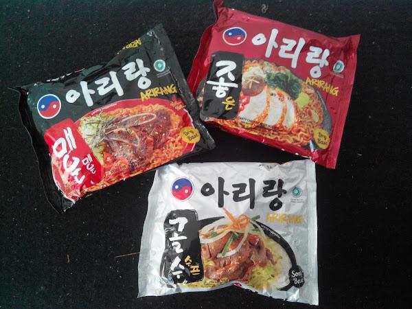 Arirang, Mie instant Korea yang Halal