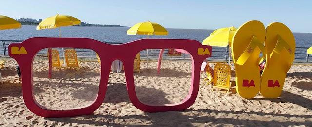 Ir às praias do Rio de La Plata em Buenos Aires no mês de dezembro
