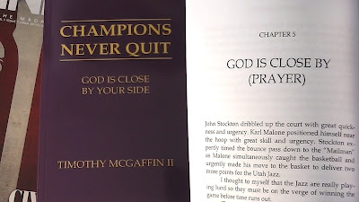 """Champions Never Quit: God Is Close By Your Side"" by Timothy McGaffin II Chapter 5 - Prayer"